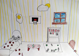 Surrealist room by Clementine