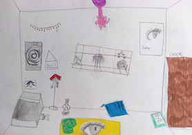 Surrealist room by Ruby