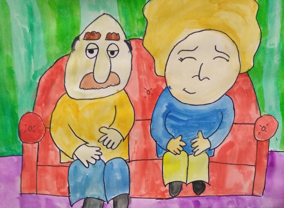 Cartoon Portrait by Amelia