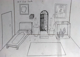 Surrealist room by James
