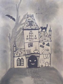 Haunted house by Harmina