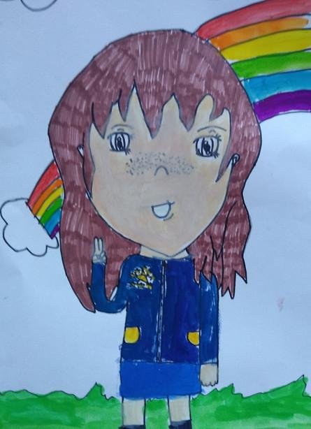 Manga Portrait by Violet
