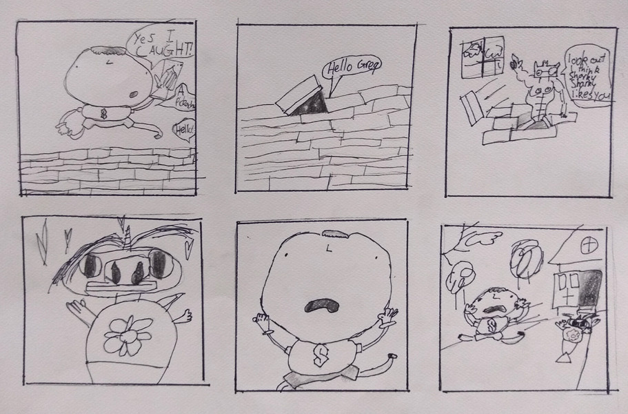 Comic Strip by Oliver