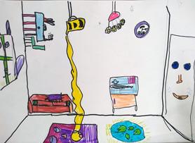 Surrealist room by Hattie