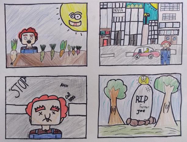 Comic Strip by Ava