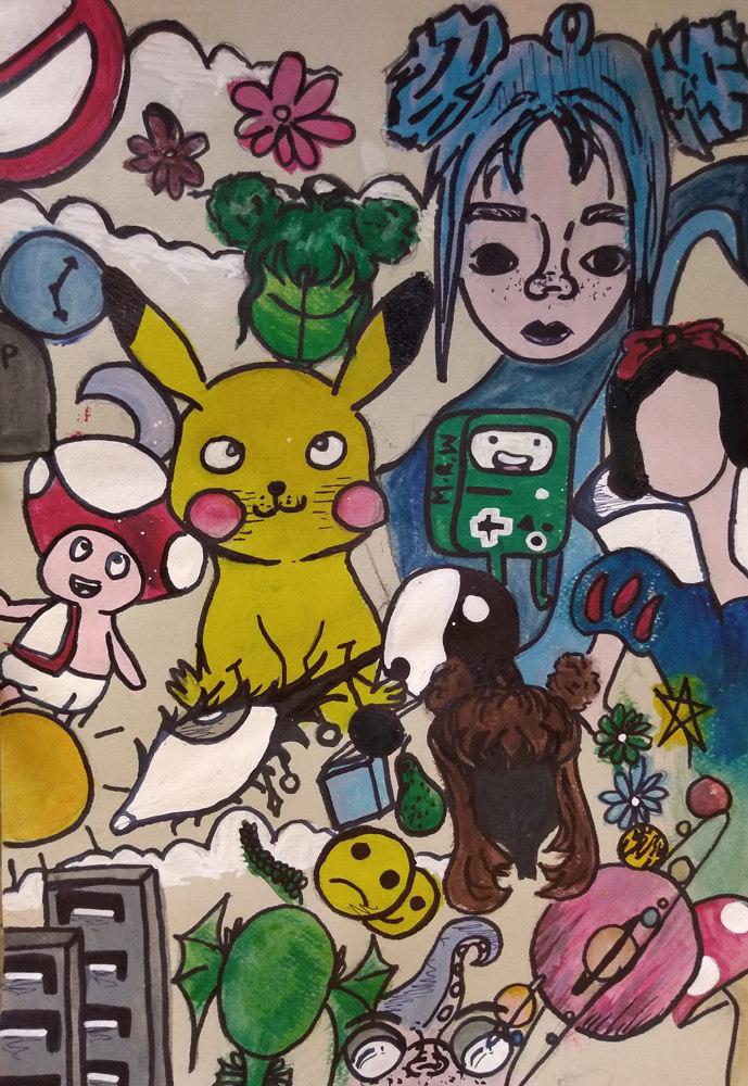 Painting by Harmina