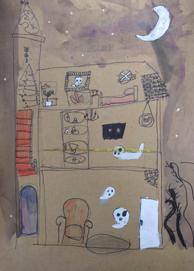 Haunted house by Millie