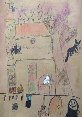 Haunted house by Poppy
