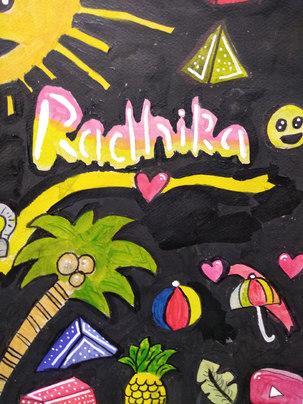 Painting by Radhika