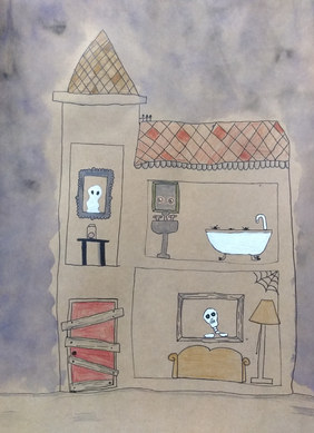 Haunted house by Talia