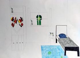 Surrealist room by Talia