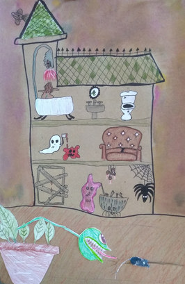 Haunted house by Emma G