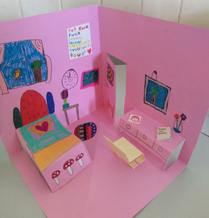 Pop-Up bedroom by Emily