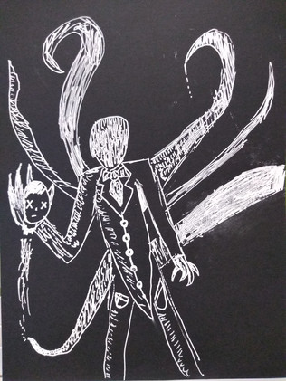 Halloween drawing by Didier