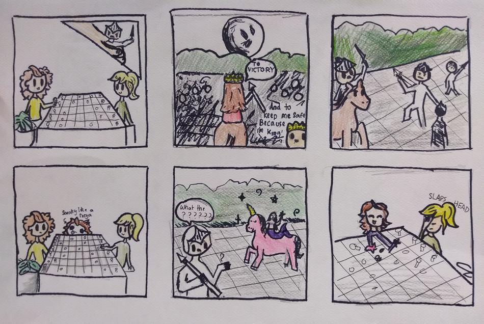 Comic Strip by Zoe