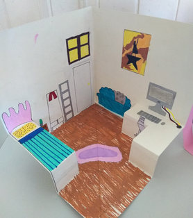 Pop-Up bedroom by Lara
