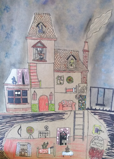 Haunted house by Emma B