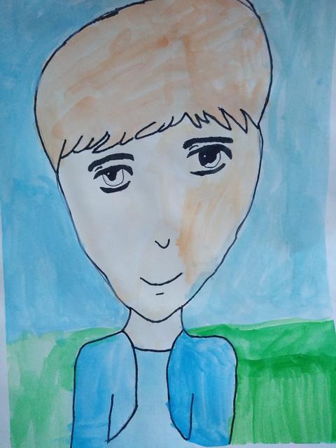 Manga Portrait by Christine