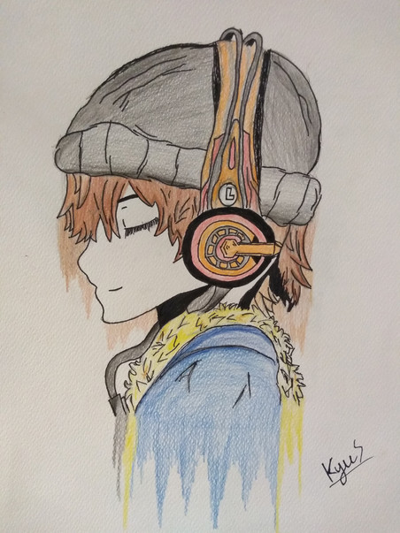 Manga Portrait by Kyus