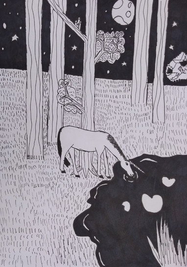 Halloween drawing by Emma B