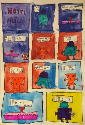Comic by Ariana