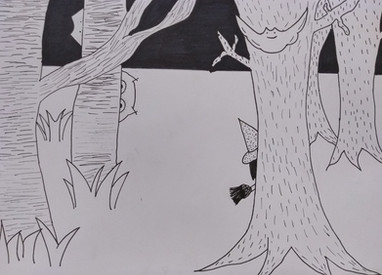 Halloween drawing by Sofia G