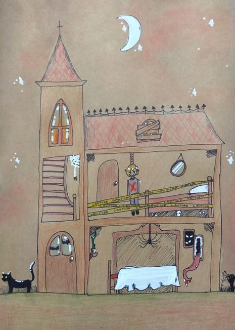 Haunted house by Sofia