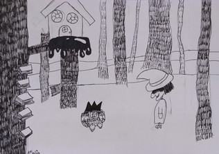 Halloween drawing by Amelia