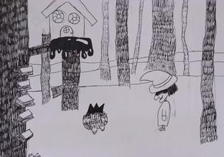 Halloween drawing by Amelia