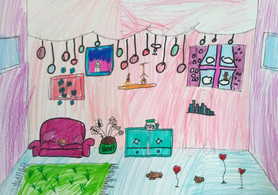 Surrealist room by Millie