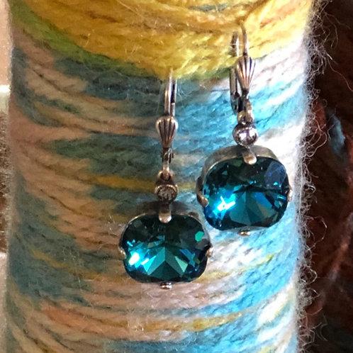 Large Crystal earrings