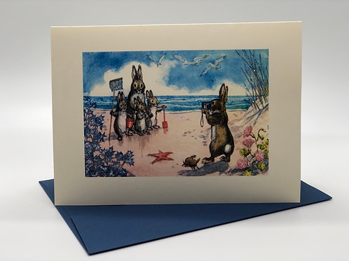 Bunnies at the Beach