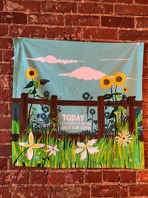 Today wall hanging/full print towel