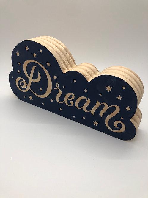 Dream block sign