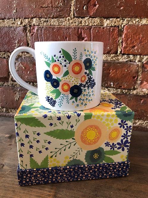 Boxed Rosa Mug