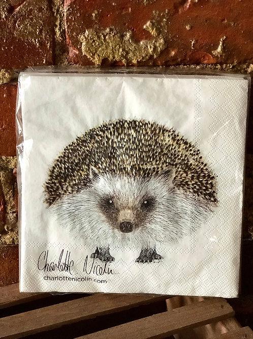 Hedgehog napkins