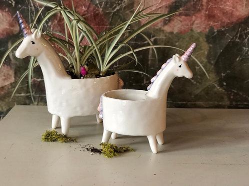 Unicorn planter Large