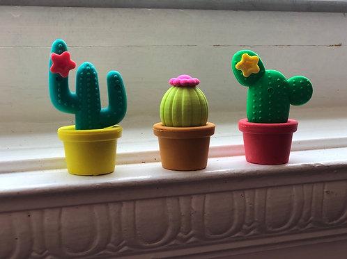 Prickly Pals Cactus Erasers