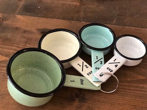 Enamel Measuring Cup Set