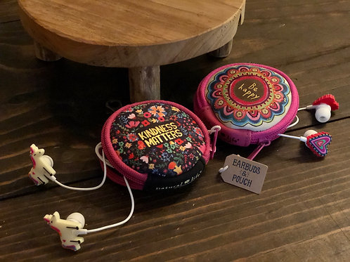 Earbuds & Pouch