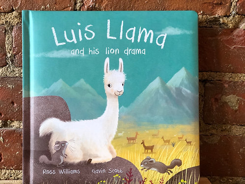 Luis Llama and his lion drama