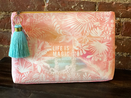 Life is Magic pouch