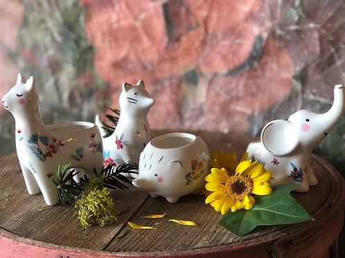 Garden Party Animal vases