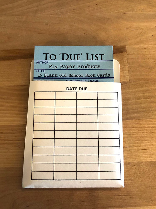 To 'Due' List