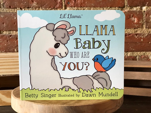 Llama Baby Who Are You