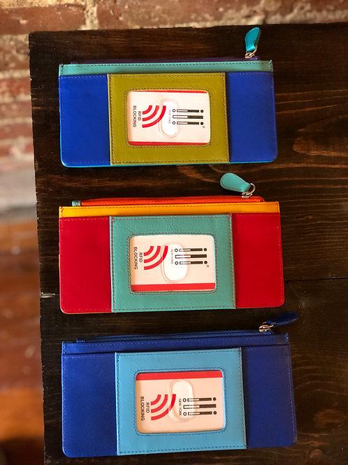 Horizontal Rectangular RFID Blocking Wallet