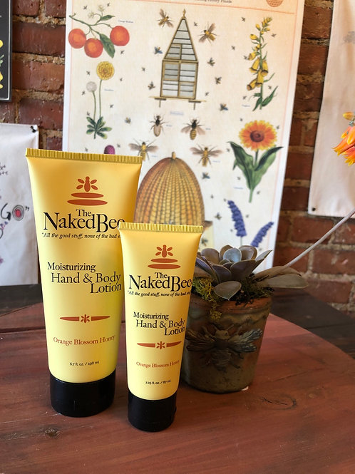 Naked Bee Hand & Body Lotion 6.7oz.