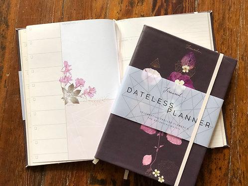 Elegant Dateless Planner