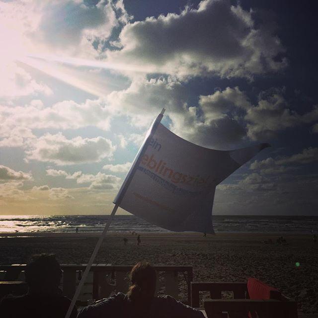 #Lieblingsziel #lieblingszielfähnchen #fähnchenontour #holland #niederlande #zandvoort