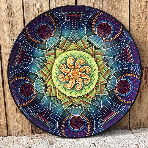 """18"""" Mandala Platter"""
